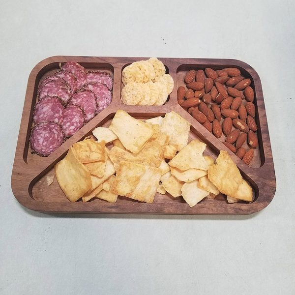 walnut tv dinner inspired meat and cheese tray main image full